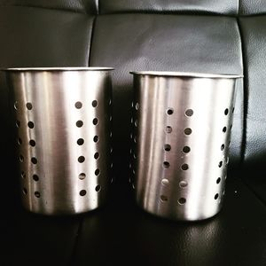 FREE ADD ON - 2 Metal Storage Containers